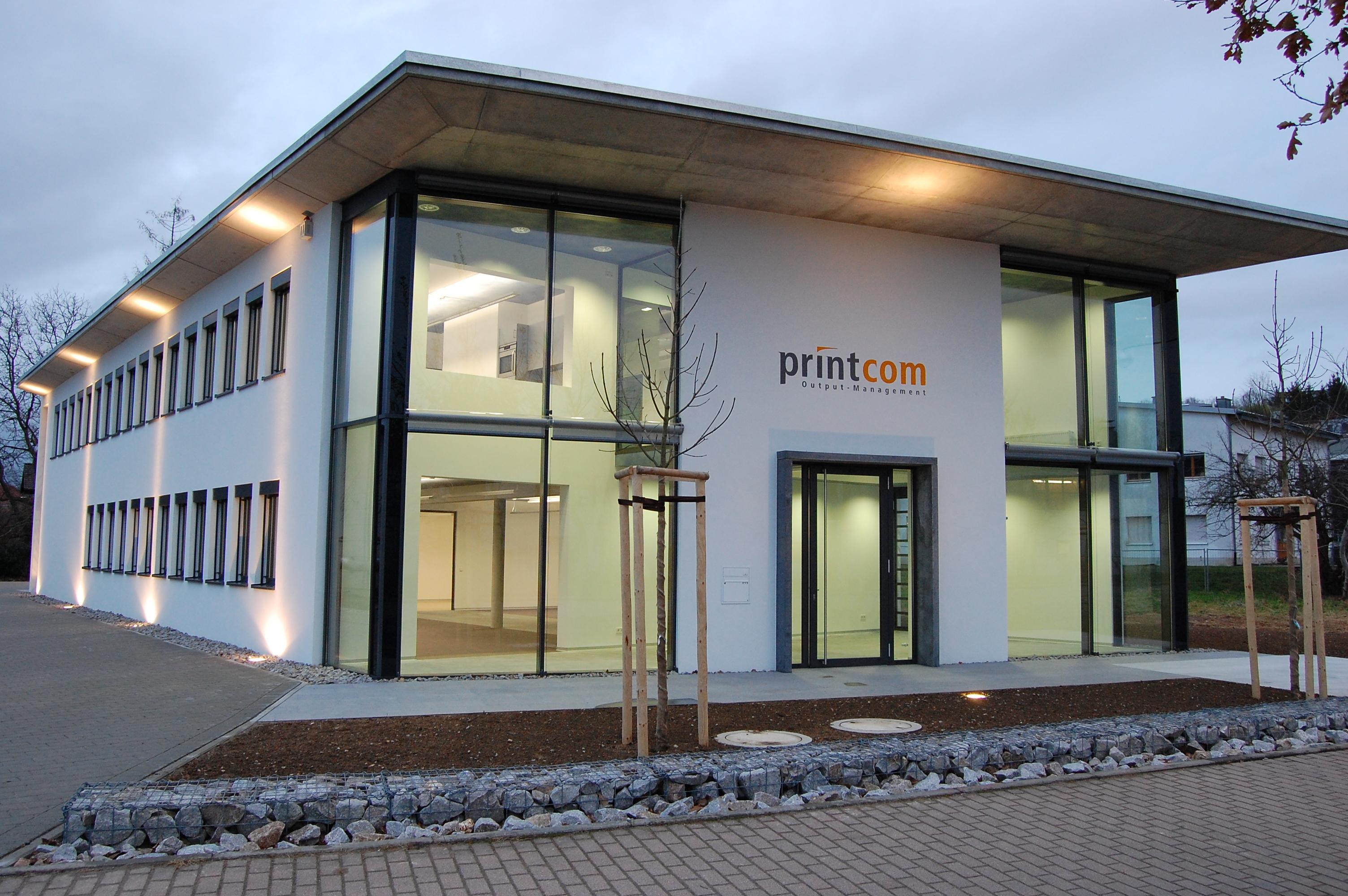 Architekturburo Vogt Bda Neubau Eines Burogebaudes Fur Die Printcom